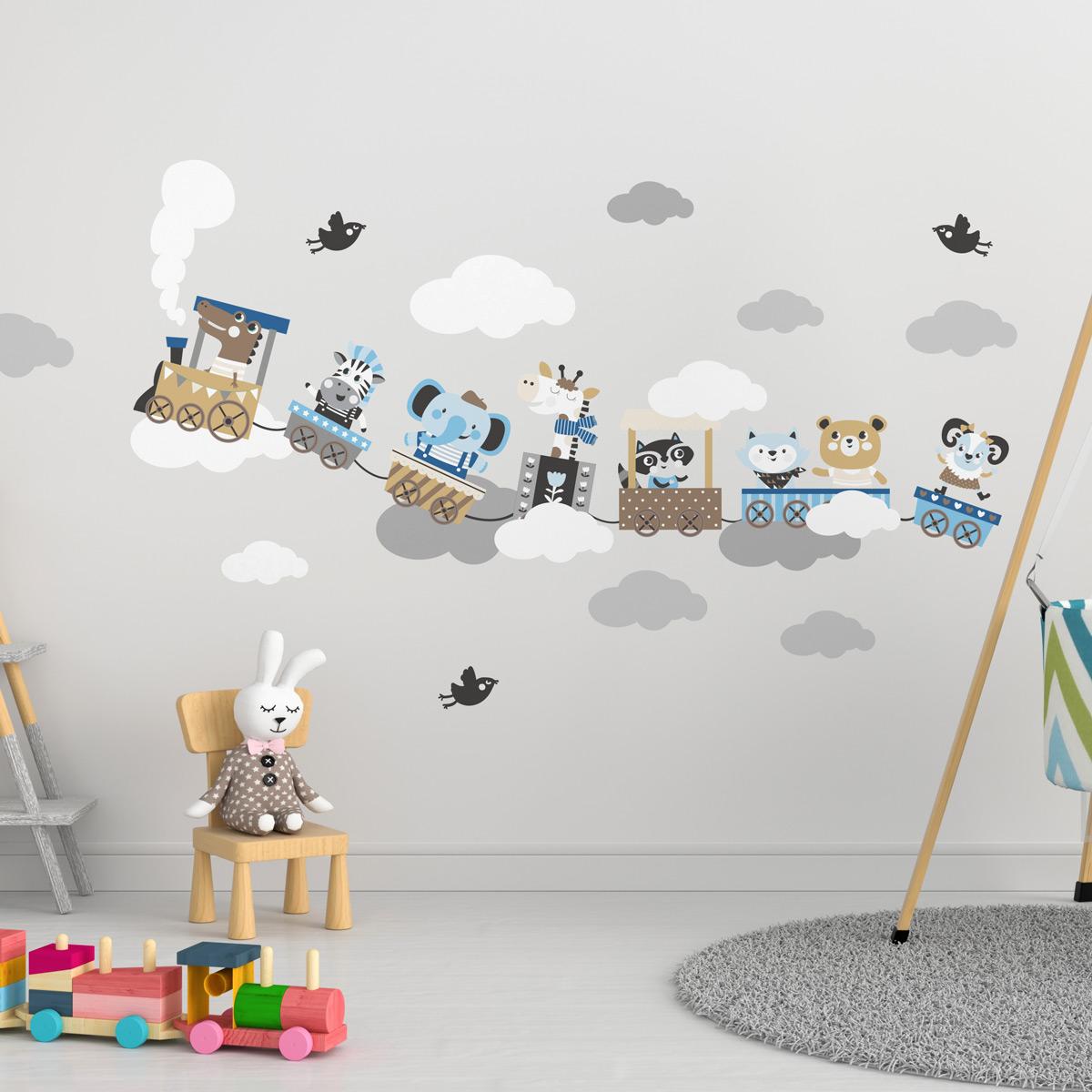 Des Autocollants Sticker Enfants Autocollant bêtes Baby Sauterelle Sauterelle