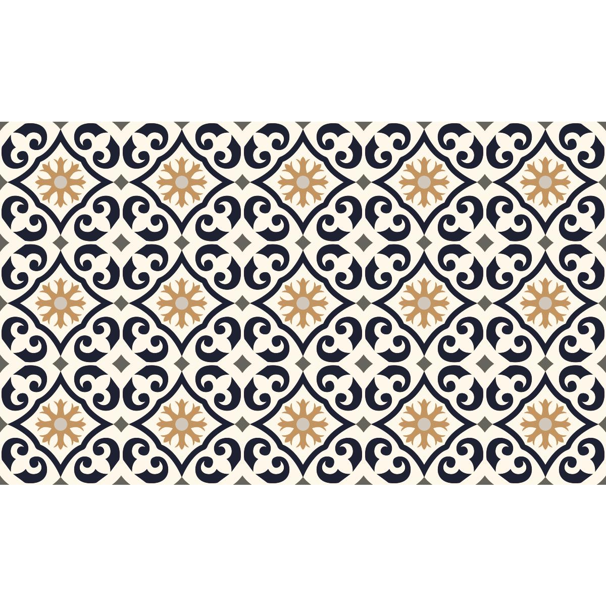 stickers carrelages sol guatta anti d rapant 60x100 cm. Black Bedroom Furniture Sets. Home Design Ideas