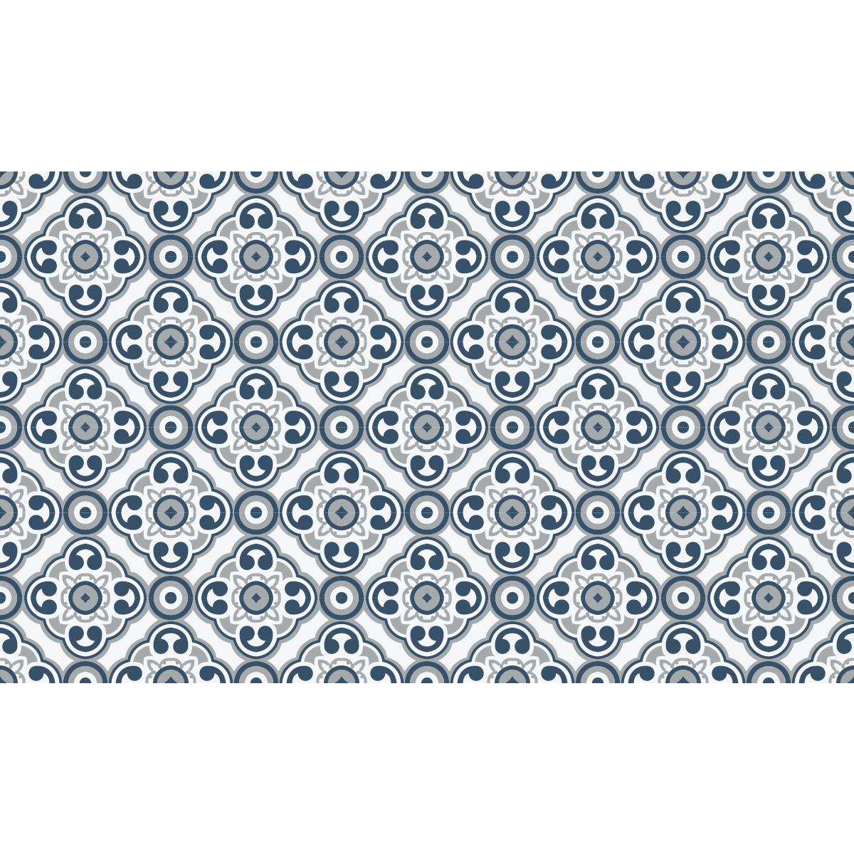 Mettre Du Lino Sur Du Carrelage stickers carrelages sol lino anti-dérapant - 60x100 cm