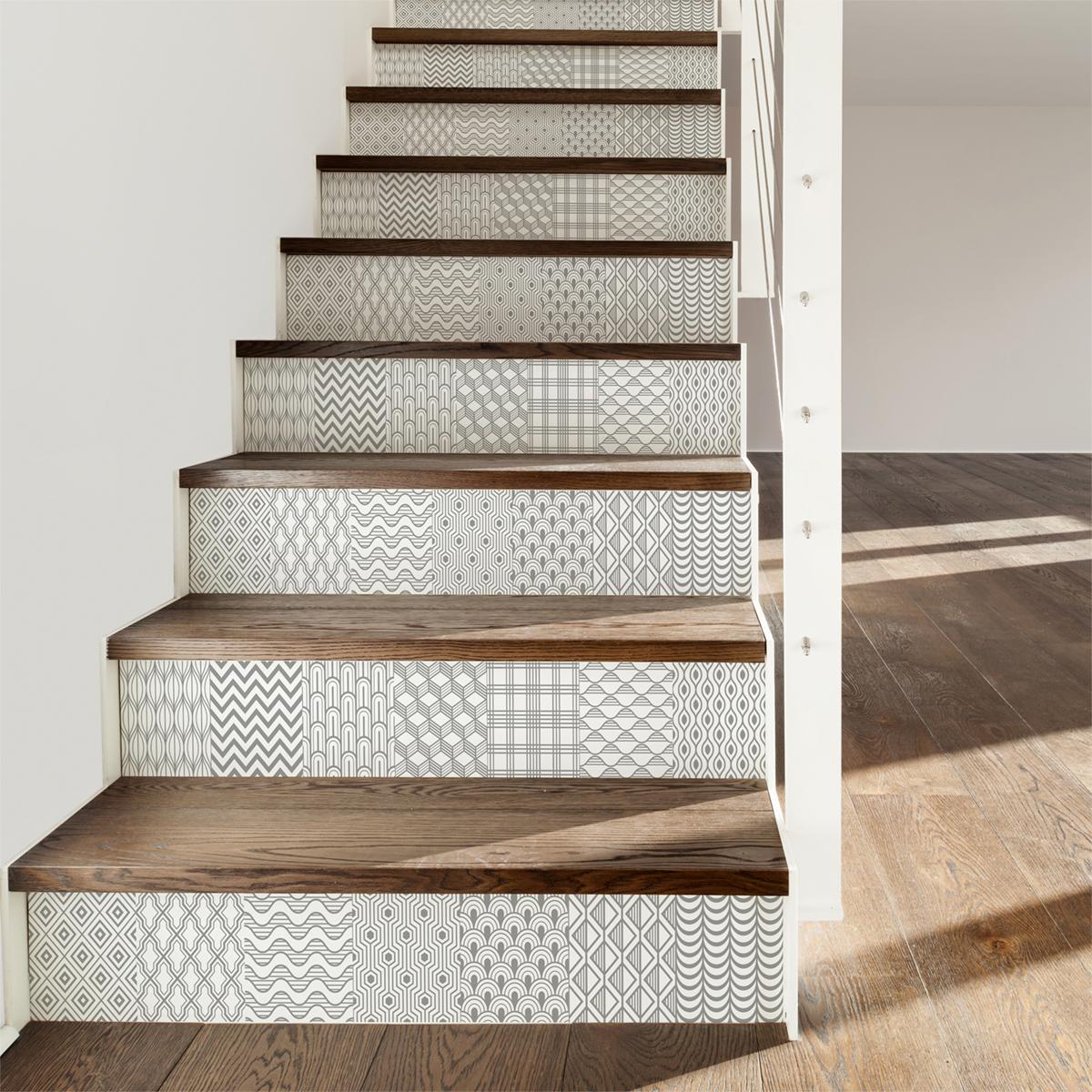 Ajouter Des Contre Marche Escalier stickers contremarche carrelages thorvald x 2