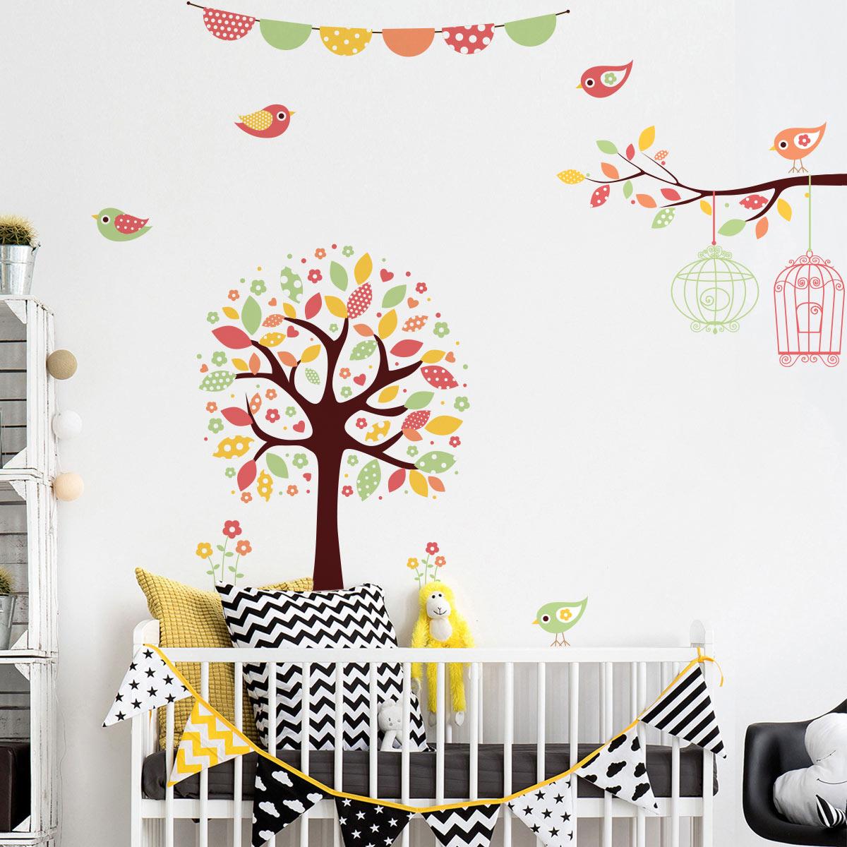 Arbre A Chat Mural Design https://www.ambiance-sticker/sticker-arbre-en-fleur-chat