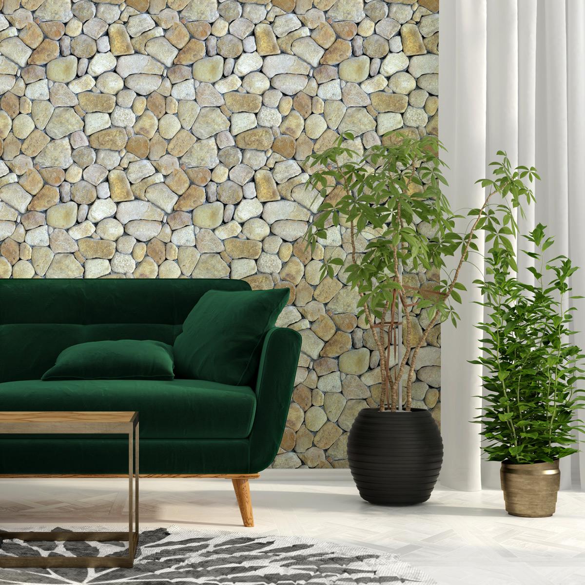 4037 3D Wall Floor Sticker Removable Drawbridge Designed Mural Decals Decor