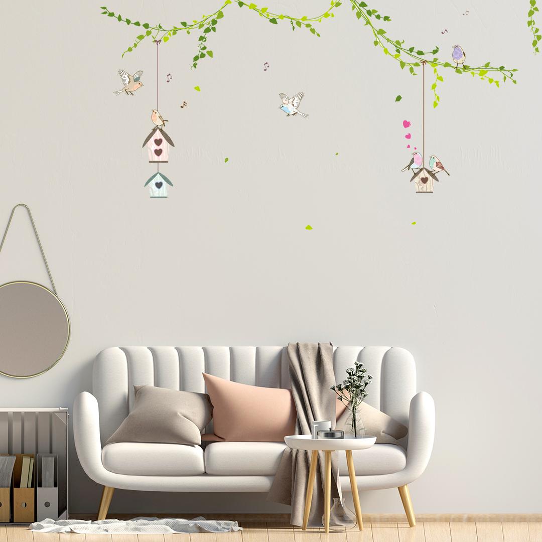 Sticker Mural Ornement Abstrait Design 3