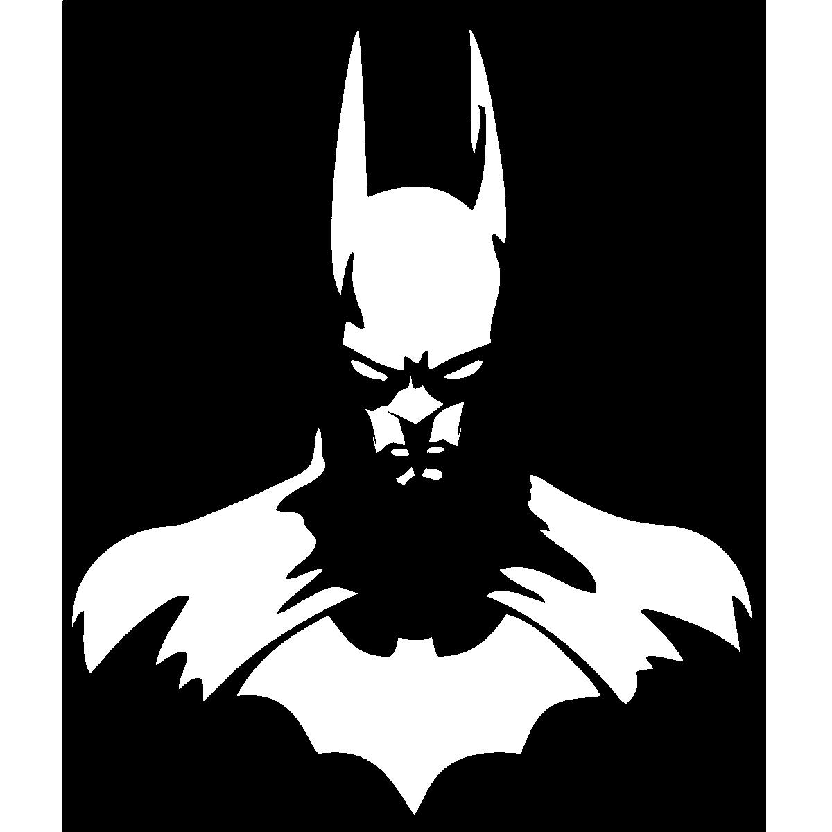 Stickers muraux pour les enfants batman dans le noir ambiance sticker com
