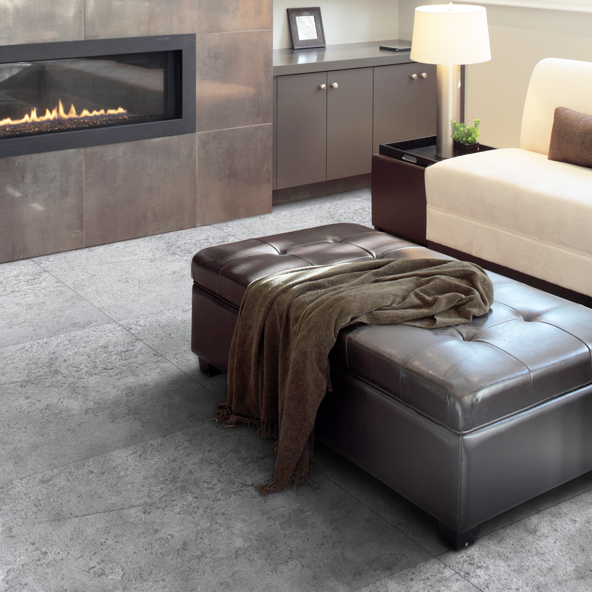 stickers sol carreaux de ciment dalle de pierre anti. Black Bedroom Furniture Sets. Home Design Ideas